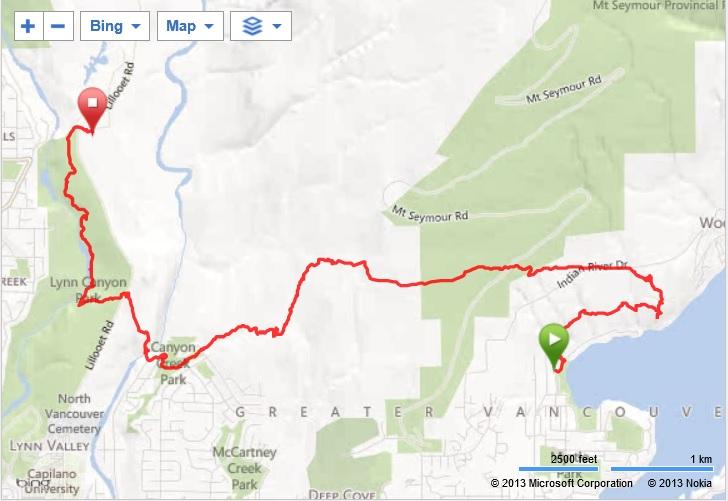 baden powell trail map pdf
